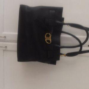 Black Tory handbag
